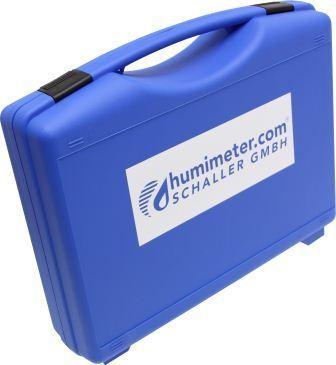 Kunststoffkoffer zur Aufbewahrung für humimeter WLW