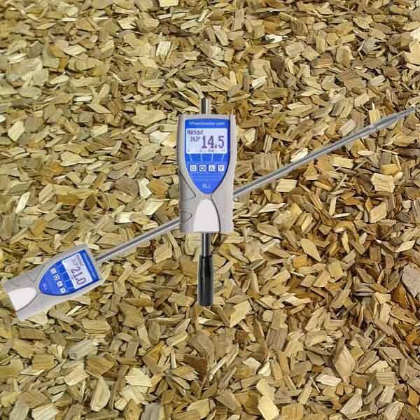 humimeter bll hackschnitzel feuchtigkeitsmessgerät