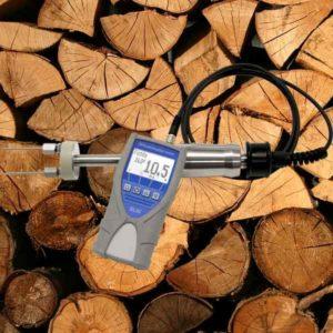 humimeter BLW Rundholz Scheitholz Feuchtigkeitsmessgerät