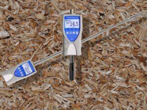 Hackschnitzel Feuchtigkeitsmessgerät humimeter BLL