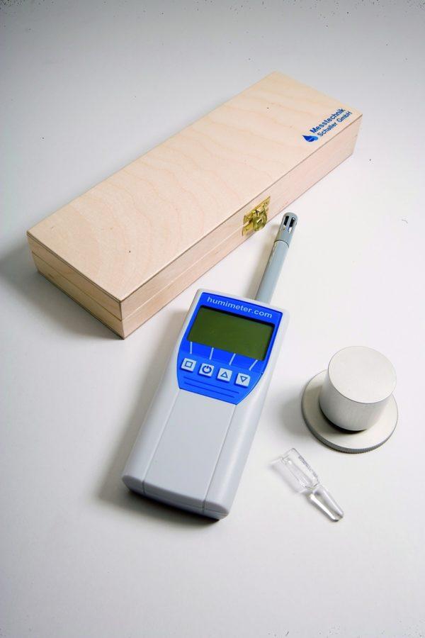 Holzkassette für humimeter RH1