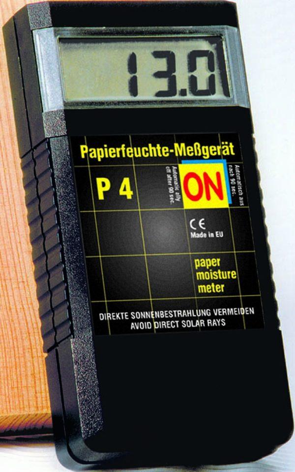 P4 Papierfeuchtehandmessgerät mit Zubehör