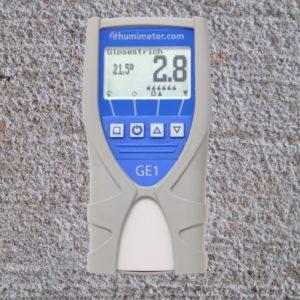 Beton Estrich Feuchtigkeitsmessgerät humimeter GE1
